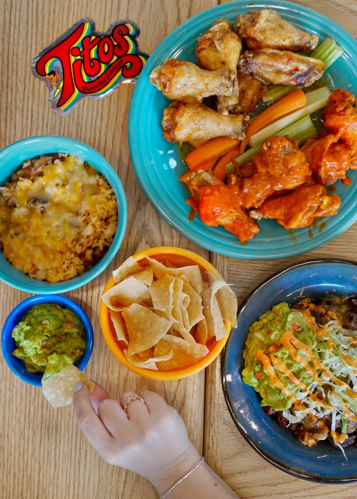 the brunch files: tito's burritos and wings