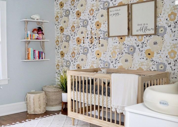 she is a wildflower: baby e.'s nursery reveal!