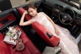 Bridal Car Deco - Volks
