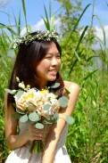 Rustic Prewedding Bouquet, Prewedding Singapore