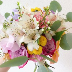 Spring Bouquet, Prewedding Bouquet Singapore, Liz Florals