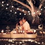 Picnic Prewedding Photoshoot, Picnic Prewedding Singapore, Fairylights Wedding Singapore