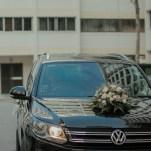 Pastel Bouquet, Bridal Bouquet Singapore, Bridal Car