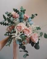 LizFlorals Bridal Bouquet Blush Rose