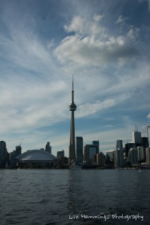 Toronto Ferry - CN Tower