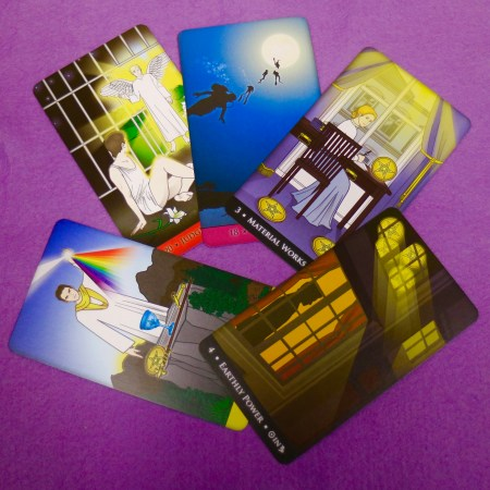 selection of cards