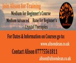 Courses with Alison Dean