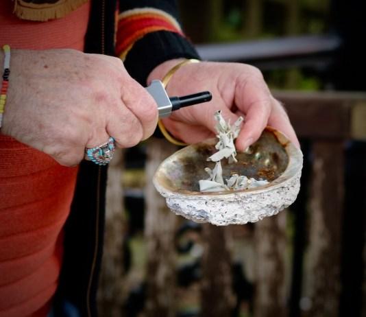 Alan Wood: Smudging Ceremony: LizianEvents Ltd