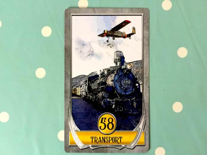 Card 58 - Transport - LizianEvents - Lizian Events