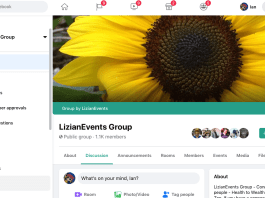 LizianEvents Facebook Group: LizianEvents Ltd