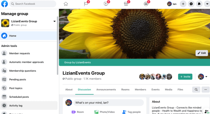 LizianEvents Facebook Group: LizianEvents Ltd