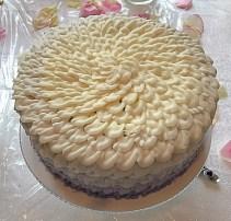 Ombre Purple Chocolate Cake