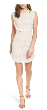 Bp. Cutout Lace Dress