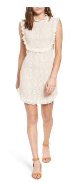 Bp. Cutout Lace Dress