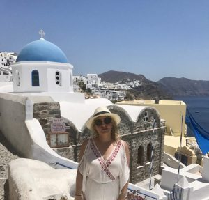 A Day in Santorini by Liz in Los Angeles, Los Angeles Blogger