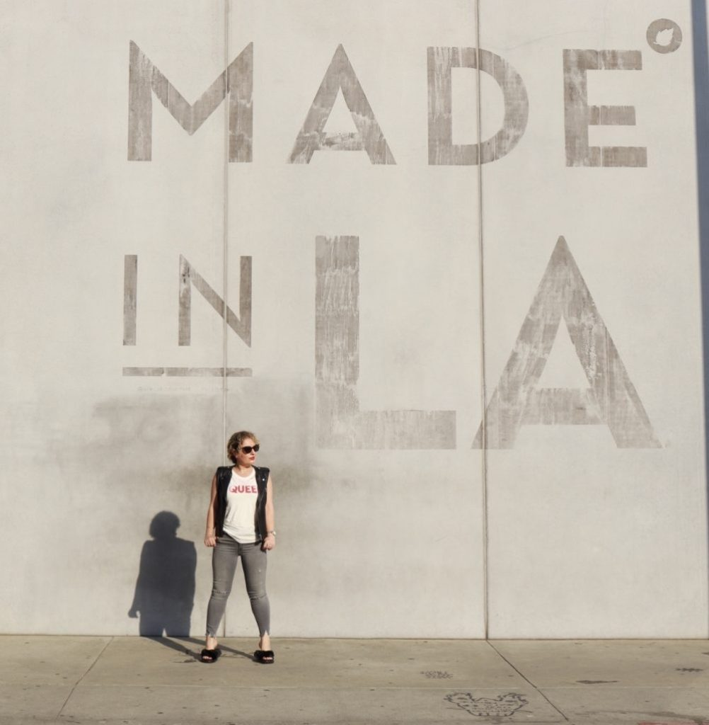 Where to Find The Made in LA Mural by Liz in Los Angeles, Los Angeles Lifestyle Blogger