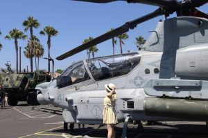 Liz in Los Angeles at LA Fleet Week