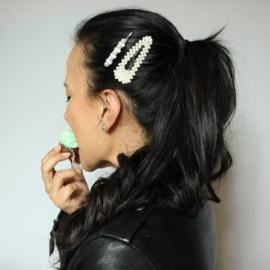 Hair Pin Trend by Liz in Los Angeles