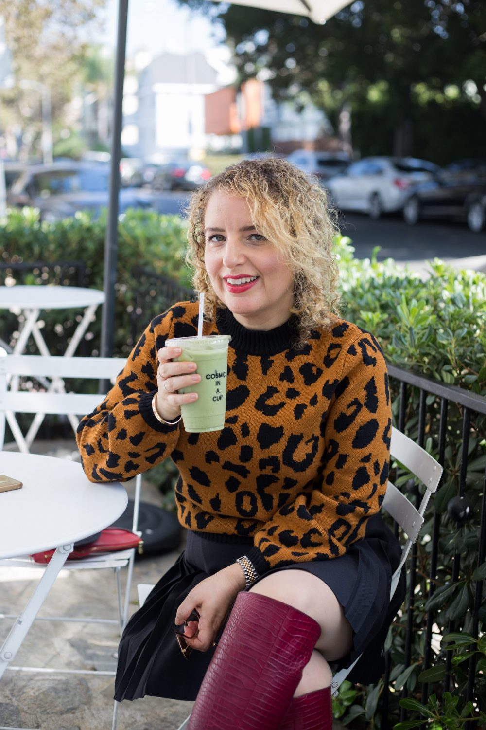 Moon Juice Lattes in LA by Liz in Los Angeles, Los Angeles Lifestyle Blogger
