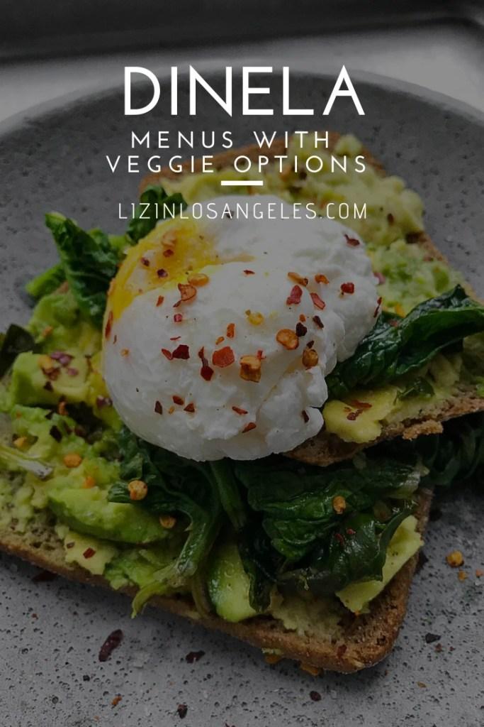 ineLA Menus with Veggie Options by Liz in Los Angeles, Los Angeles Lifestyle Blogger