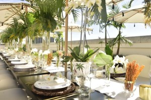 5 Mother's Day Ideas to Celebrate in Quarantine, a blog post by Liz in Los Angeles: an image of a luxury event