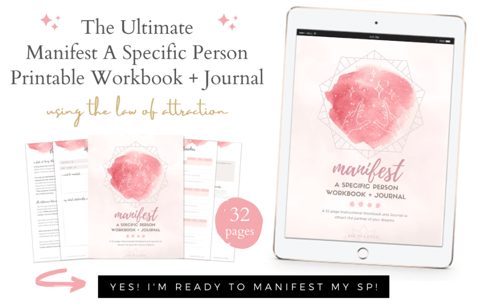 Person a manifesting with love specific How to