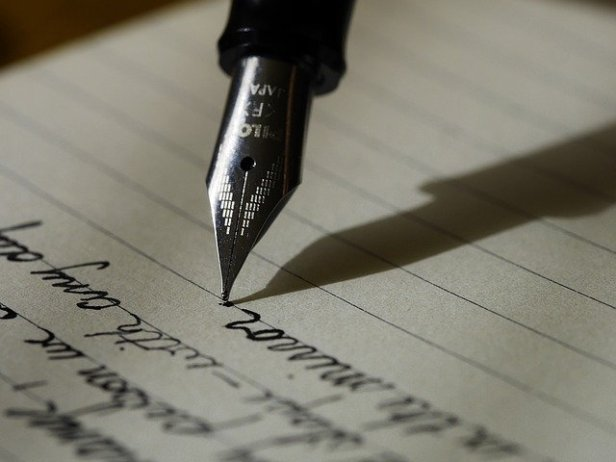 Writing a letter (though this open letter was not written by hand, haha)