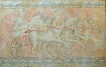 Fresco , the Etruscans. 210x120