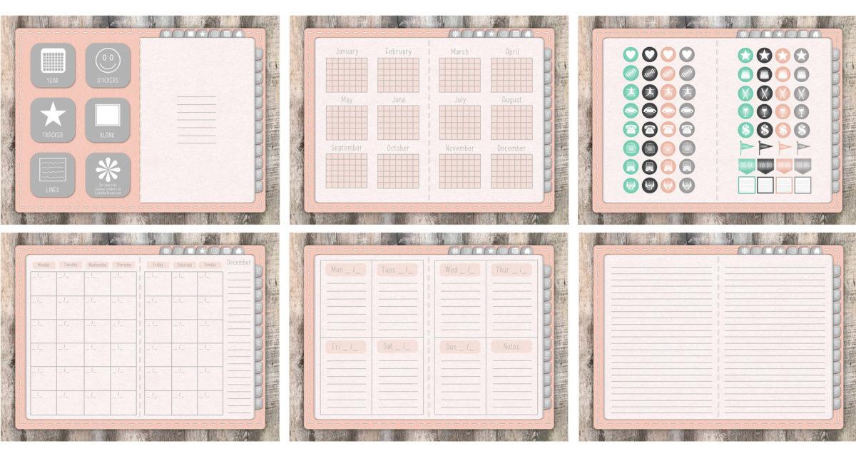 Digital Planner Class Downloads