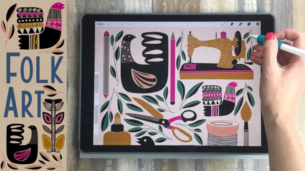 Liz Kohler Brown – iPad Art, Design, Tutorials, & Inspiration