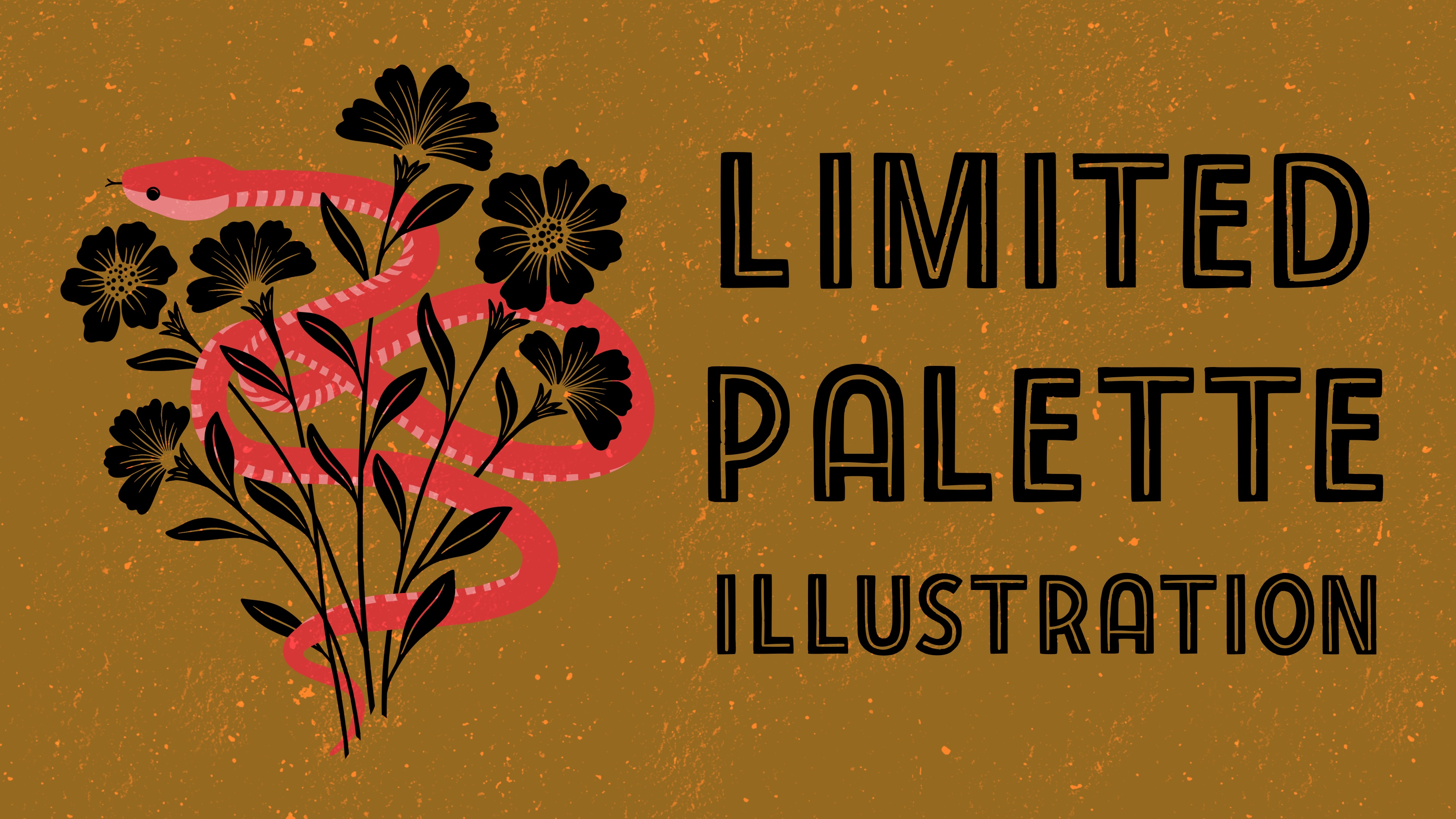 Limited Color Palettes and Illustrations in Procreate