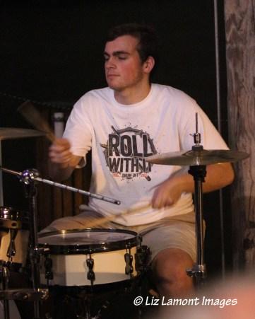 Drummer Bobby Van Stone