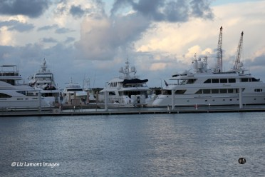 Yachts nearby