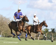 Adolfo Cambiaso tracking the ball
