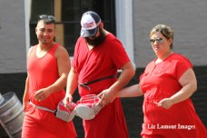 Scenes from New Orleans Red Dress Run Event held on August 9, 2014.