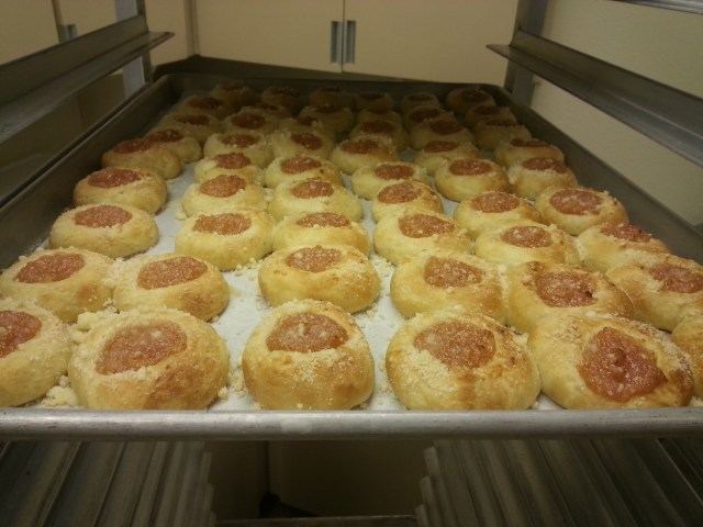 Peach Kolaches