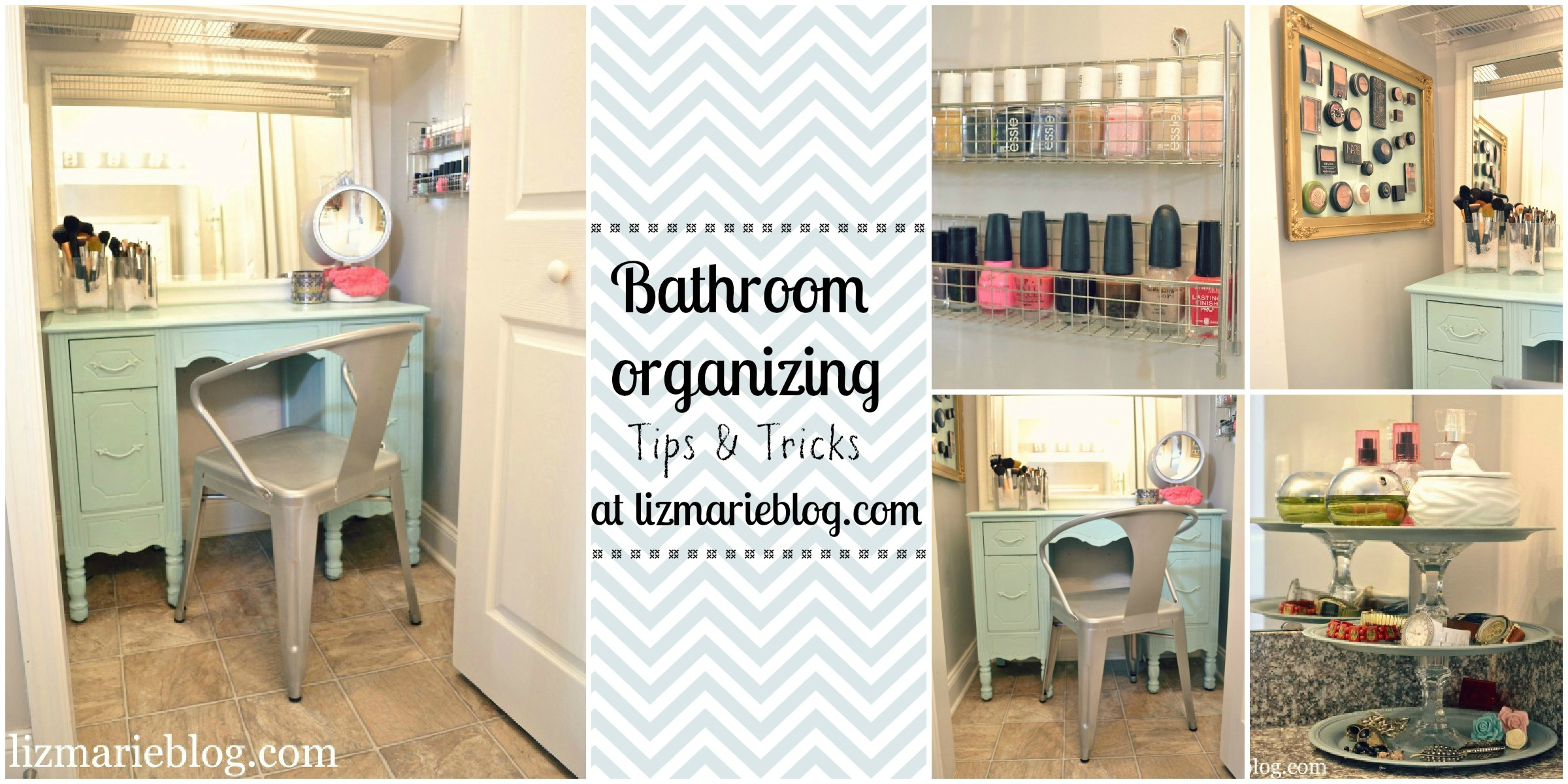 How To Organize A Bathroom Master Bathroom Organizing Ideas Liz Marie Blog