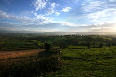 Chew Valley from Dundry Hill