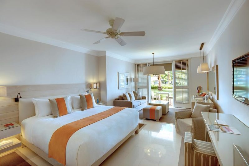 LUX BELLE MARE MAURITIUS BEDROOM REVIEW