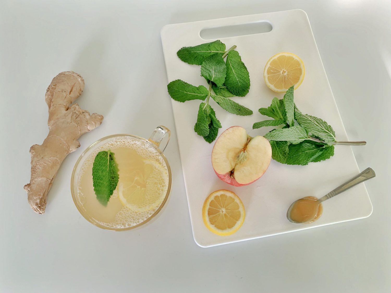 Liz Olusesan Homemade Apple Tea