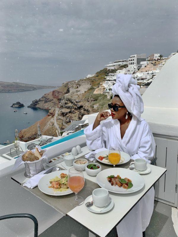 Santorini Oia by Liz Olusesan Travel Katikies Hotel