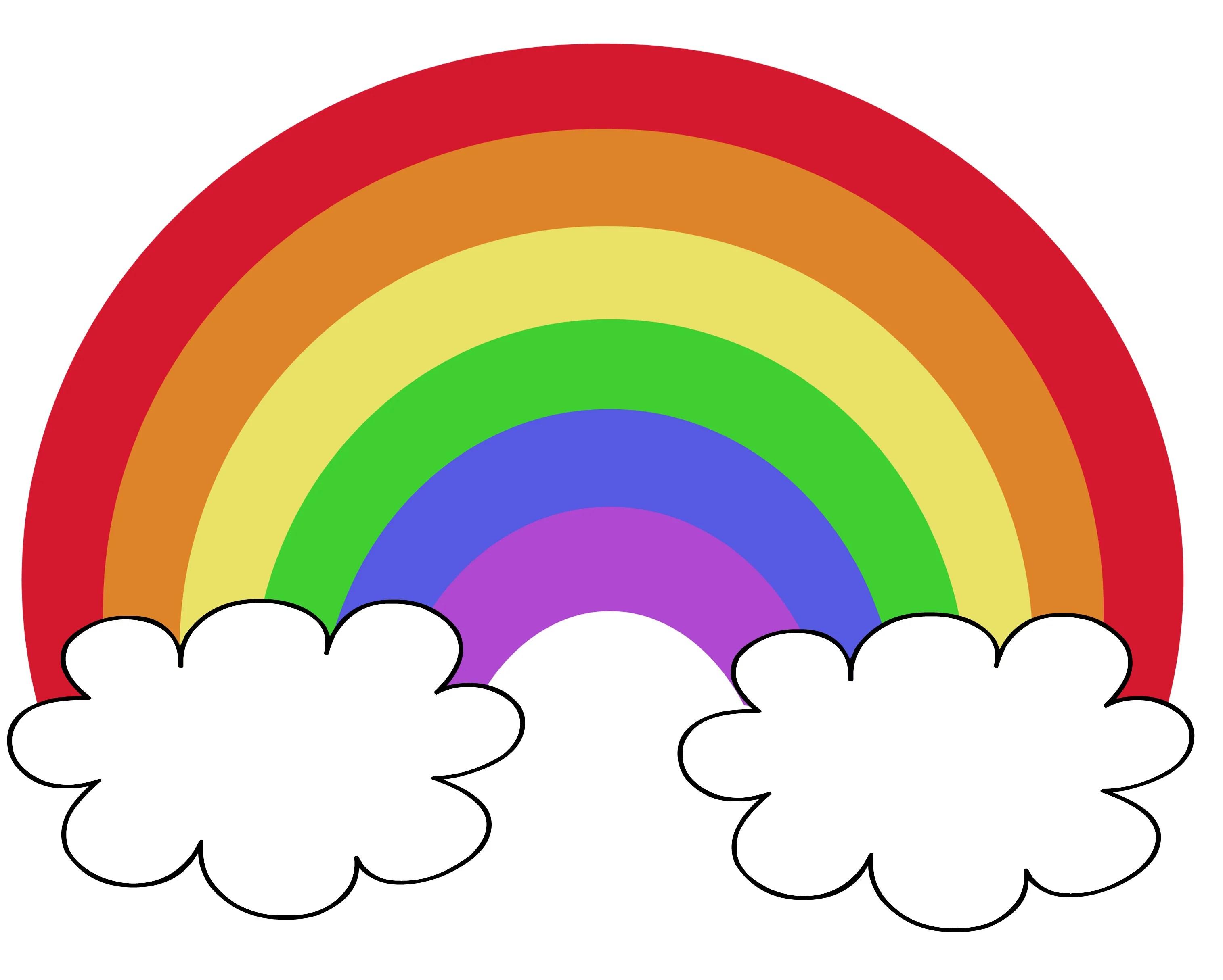 Preschool Worksheet Rainbow