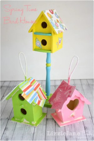 birdhouse craft for kids #birdhouse #kidcraft