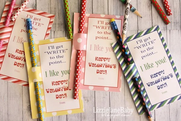 Write To The Point Candy Free Valentines Liz On Call