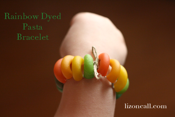 Pasta Necklace & Bracelet 5