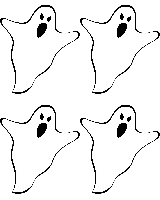 Free Printable Ghost Banner