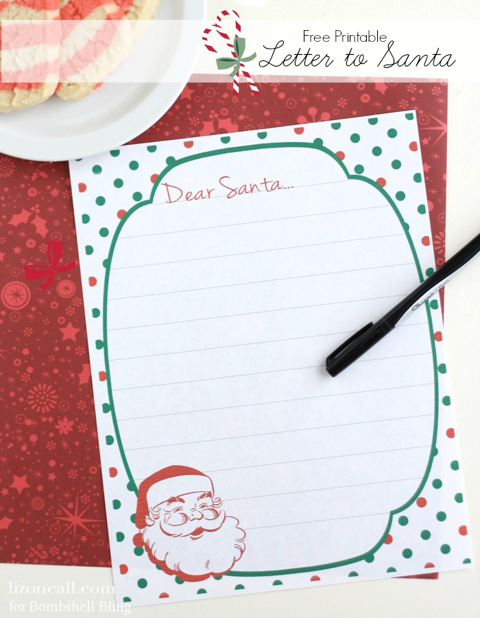 graphic regarding Letter From Santa Printable known as Free of charge Printable Letter toward Santa