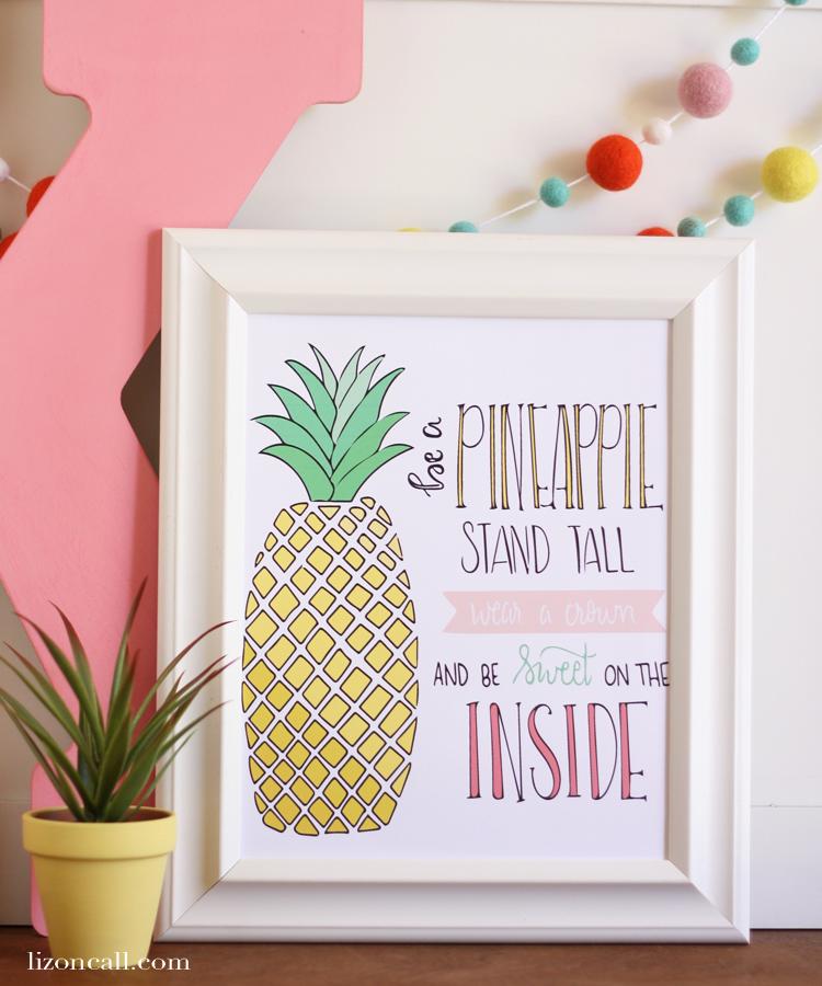 Be a Pineapple Print 2