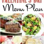 Romantic Valentine S Day Dinner Menu Plan Liz On Call