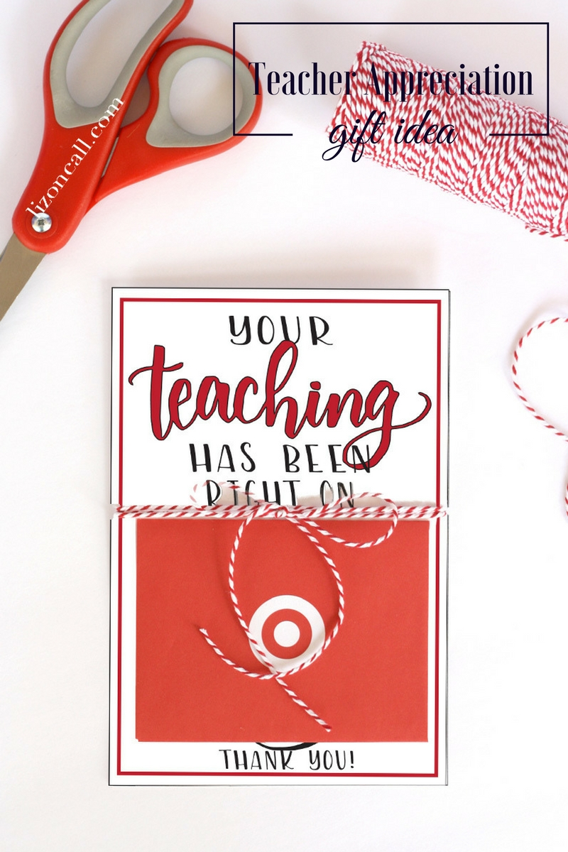 Teachers Love Handmade Gifts From Their Students But Appreciate Gift Cards Too Give